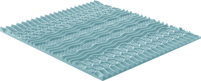 Pale Mattress, the special mattress. Waterfoam